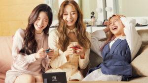 Nintendo Switch, Dahyun, Tzuyu, Jeongyeon