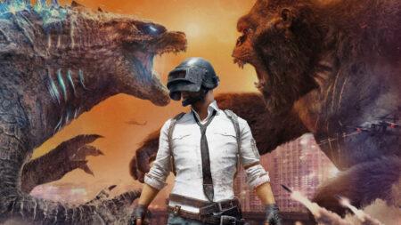 PUBG Mobile, Godzilla vs Kong
