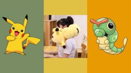 Pokemon, Pikachu, Caterpie, Plush, Aliexpress
