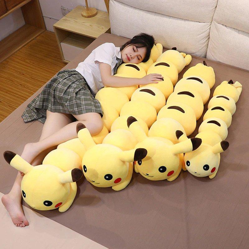 Pokemon, Pikachu, Caterpie, Caterpillar plush, AliExpress