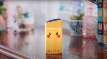 Pokemon, Pikachu, Anessa, sunblock