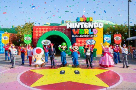 Super Nintendo World, Super Mario Bros., Japan