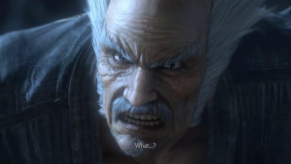 Screenshot of Heihachi in Tekken 7