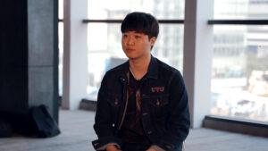 LowHigh during a TWT 2019 Finals Interview