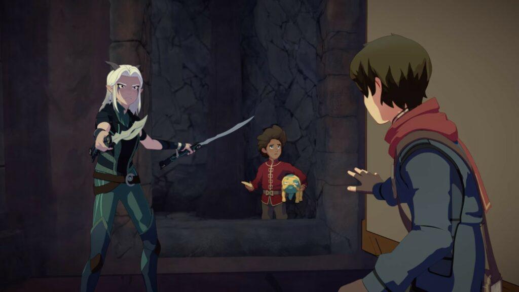 Screenshot of The Dragon Prince