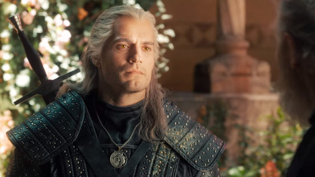 Screenshot of Geralt in The Witcher