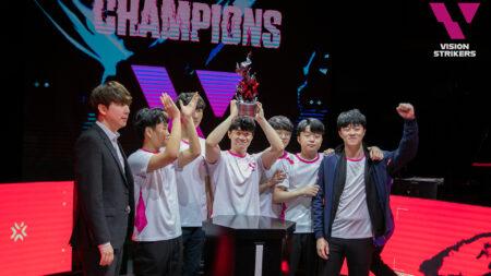 Vision Strikers wins First Strike Korea