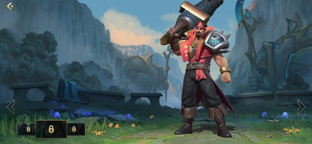 League of Legends: Wild Rift, Cutthroat Graves skin