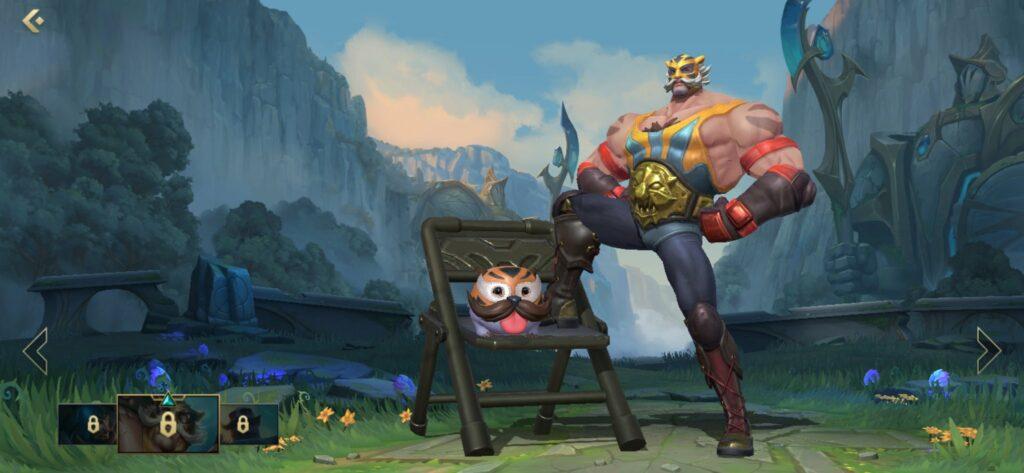 League of Legends: Wild Rift, El Tigre Braum