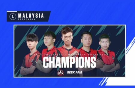 Wild Rift, SEA Icon Series, Preseason, Geek Fam, Malaysia