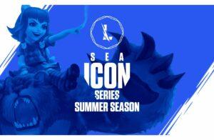 Wild rift, sea icon series, summer season