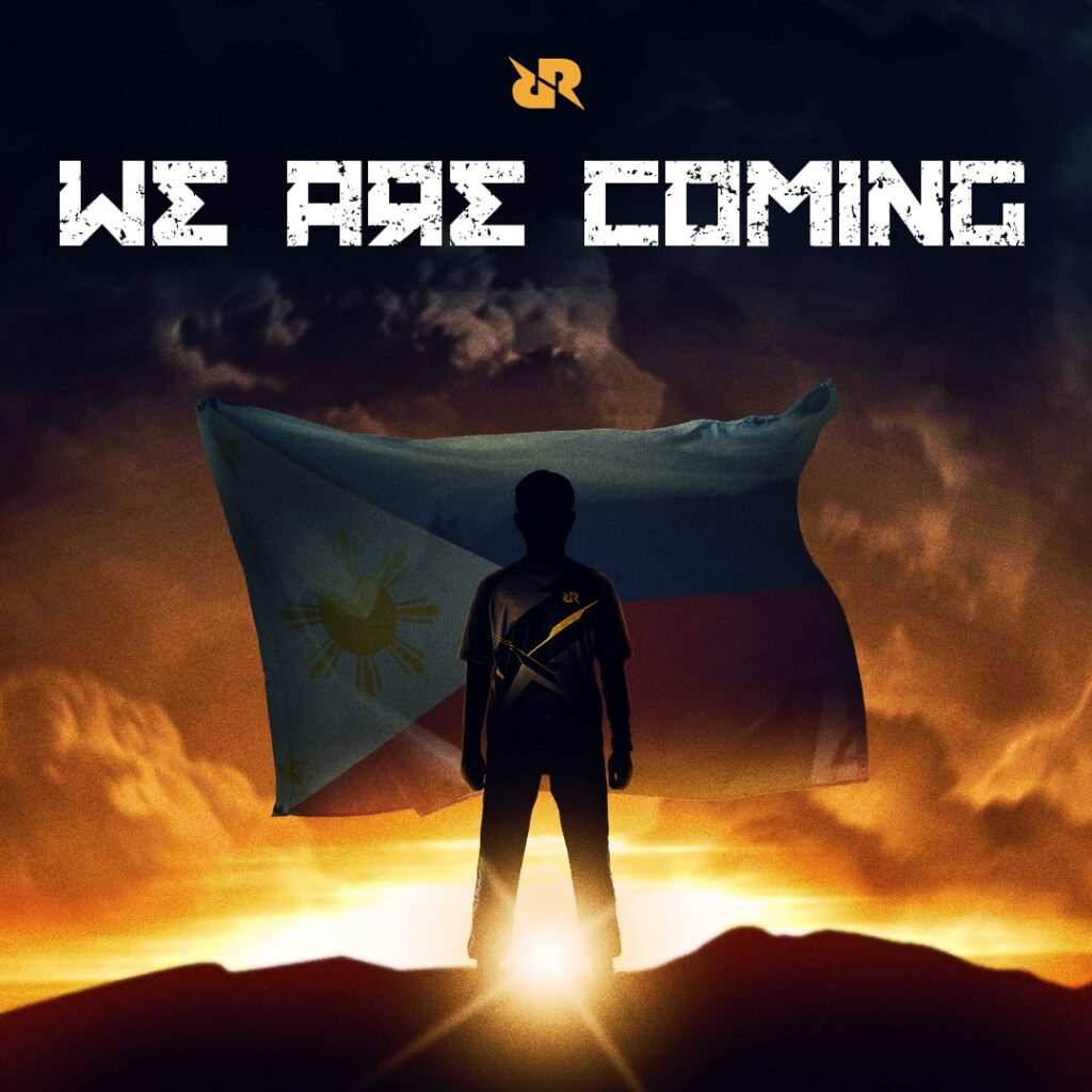 Team RRQ teaser announcing their foray into the Philippines