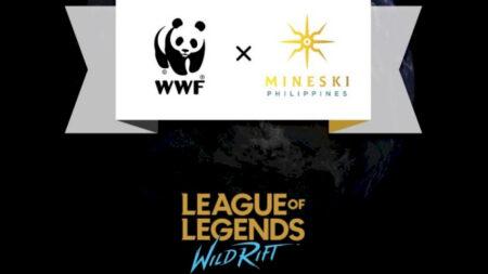 League of Legends: Wild Rift, WWF Philippines, and Mineski Corporation