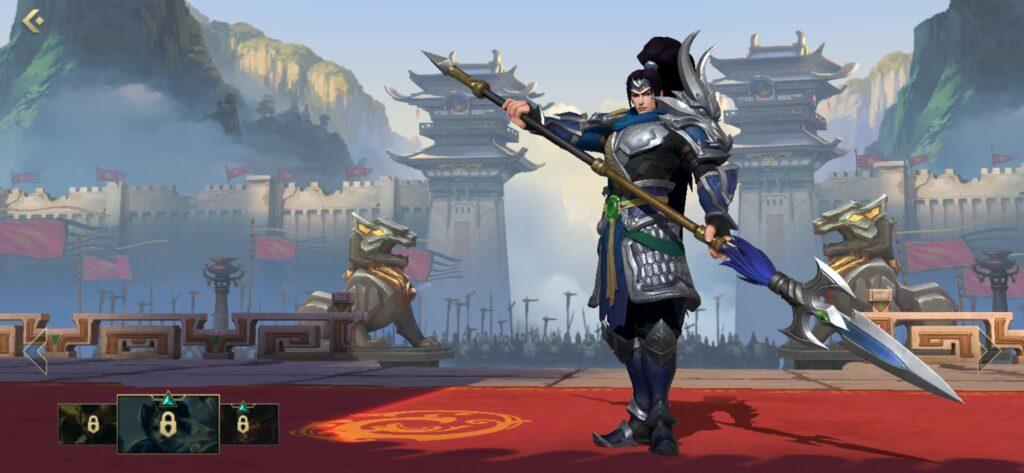 League of Legends: Wild Rift, Warring Kingdoms Xin Zhao