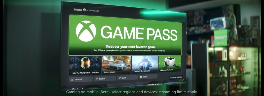 Xbox Game Pass, NoobMaster69