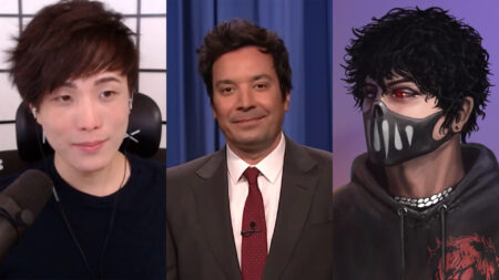 Side by side of Sykkuno, Jimmy Fallon, and Corpse Husband
