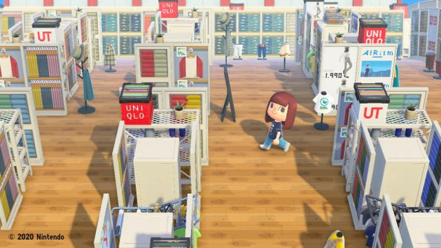 Animal Crossing,: New Horizons, Uniqlo Island