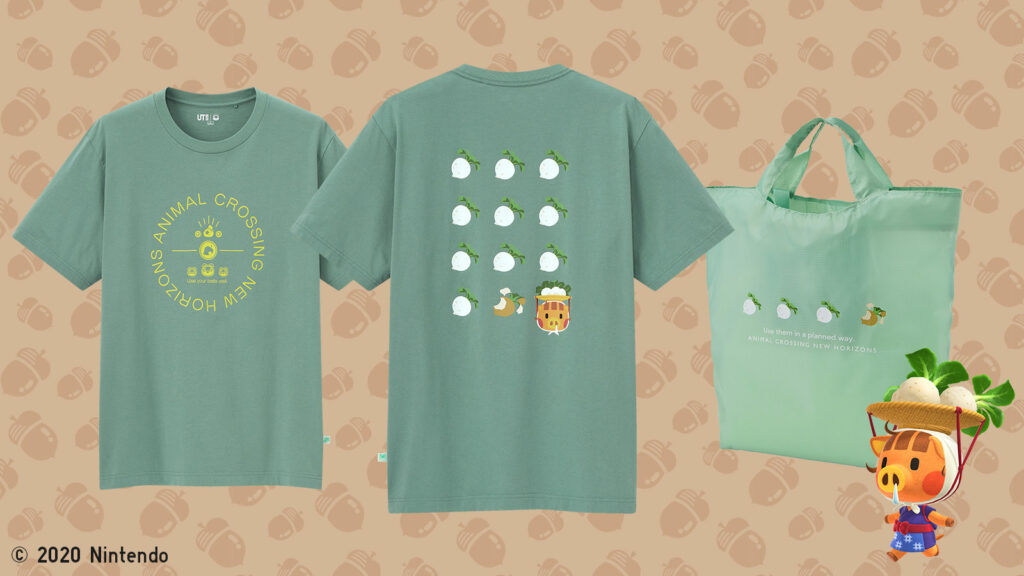 Animal Crossing, Uniqlo, turnips, Daisy Mae