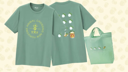 Animal Crossing, Uniqlo, turnip shirts