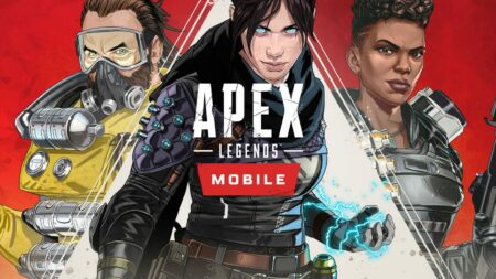 Splash art of Apex Legends Mobile