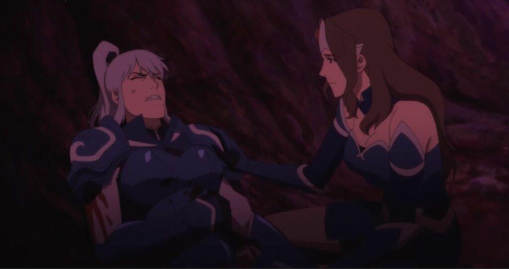 Dota 2, Mirana comforting Luna