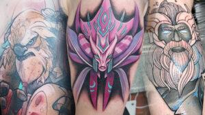 Dota 2, Tattoos