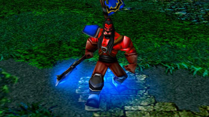 DotA, Warcraft III, Axe