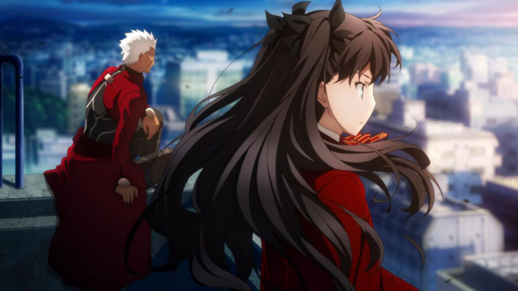 Fate/stay night, Unlimited Blade Works, Tohsaka Rin, Archer