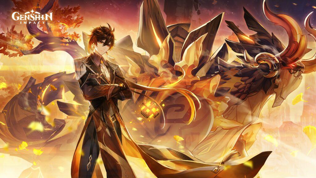 Genshin Impact, Zhongli, Version 1.5, Azhdaha