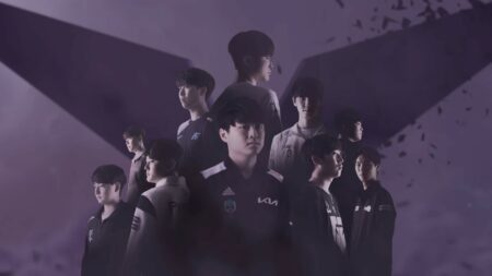 Screenshot of LCK Spring Title video