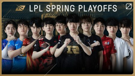 Participating teams in the 2021 LPL Spring Playoffs