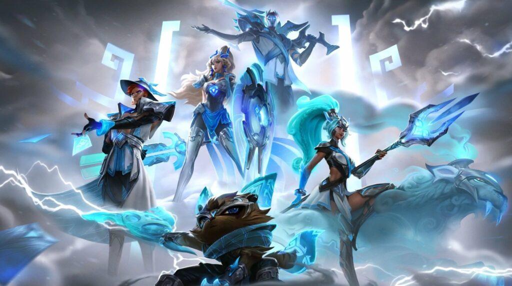 League of Legends, DAMWON Gaming, Worlds 2020 skins, splash art