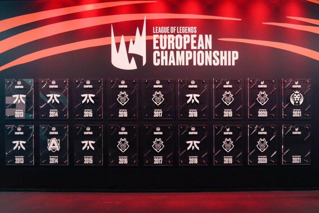 League of Legends, LEC, champion wall
