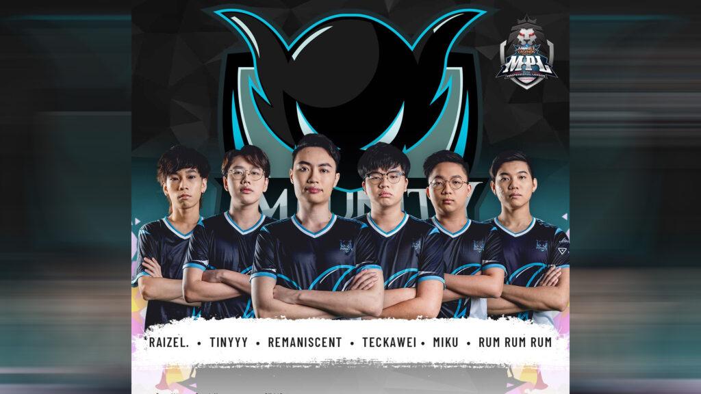 MLBB MPL SG Season 1 team Impunity