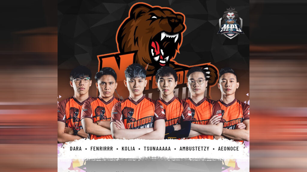 MLBB MPL Singapore Season 1 team Notorious Villains