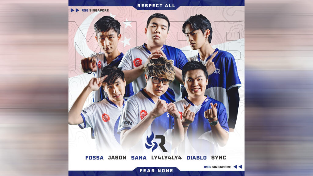 Mobile Legends MPL MY Season 1 team, RSG