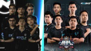 Mobile Legends: Bang Bang teams Nexplay Esports and Execration