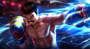 Mobile legends: bang bang hero, paquito and new skin manny pacquiao