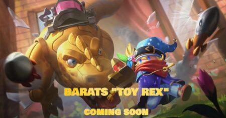 Mobile Legends: Bang Bang skin, Toy Rex Barats