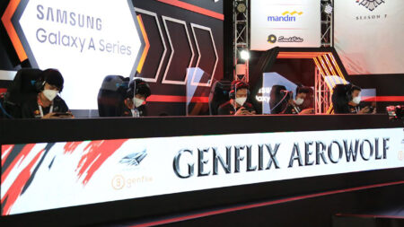 Genflix Aerowolf on stage at MPL ID
