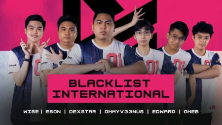 Photo of Blacklist Internaitonal roster in MPL PH S7