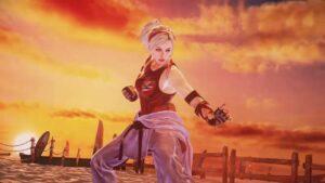 Screenshot of lidia's rage art in tekken 7