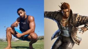 Side by side of Sam Da Flyin Hawaiian and Eddy Gordo of Tekken 7