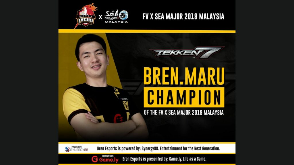 Tekken, Maru, Bren Esports