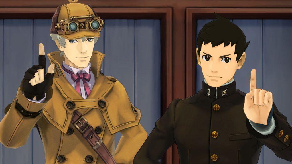 The Great Ace Attorney, Capcom, Herlock Sholmes, Ryunosuke