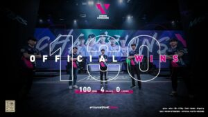 Valorant, Vision Strikers, Korea, 100 wins