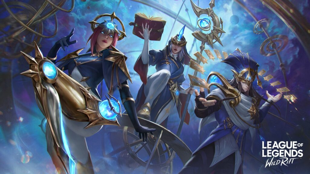 League of Legends: Wild Rift, Stargazer Camille, Stargazer Soraka, Stargazer Twisted Fate, skin