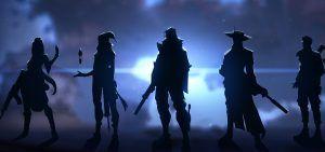 Valorant agents, silhouette