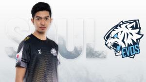 MLBB pro player EVOS SG Soul