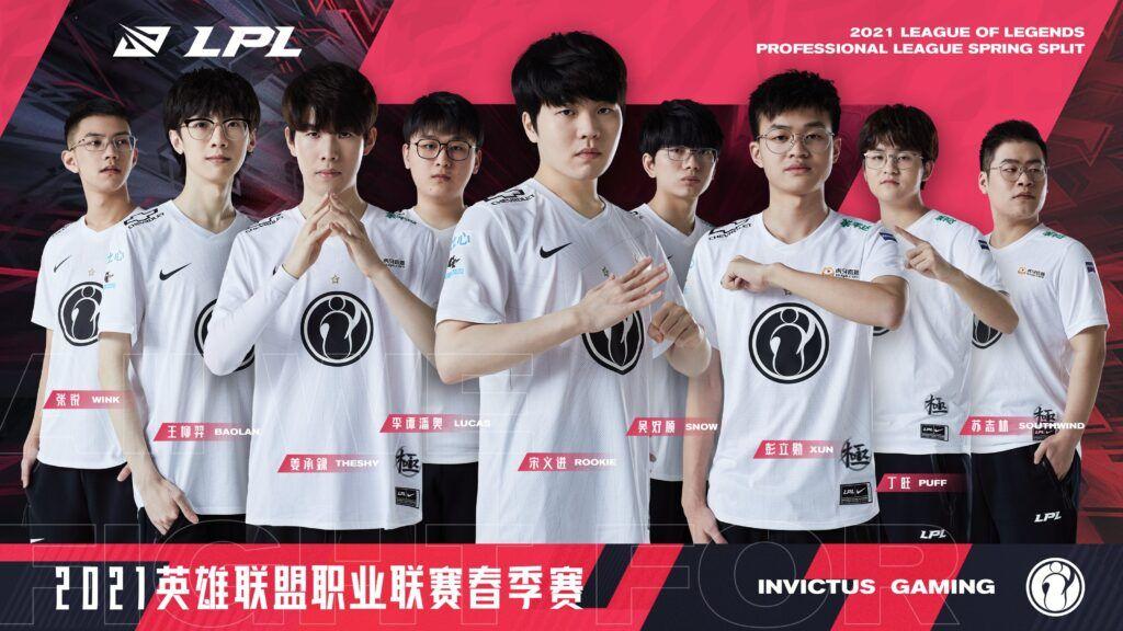 LPL team Invictus Gaming, Spring 2021